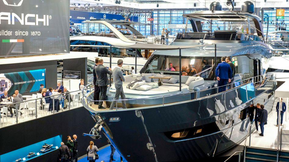 Bootsmesse in Düsseldorf (Archivbild): Die untere Hälfte der Bevölkerung hat so gut wie kein Vermögen