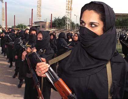 Training in Bagdad: Irakische Frauen machen mobil