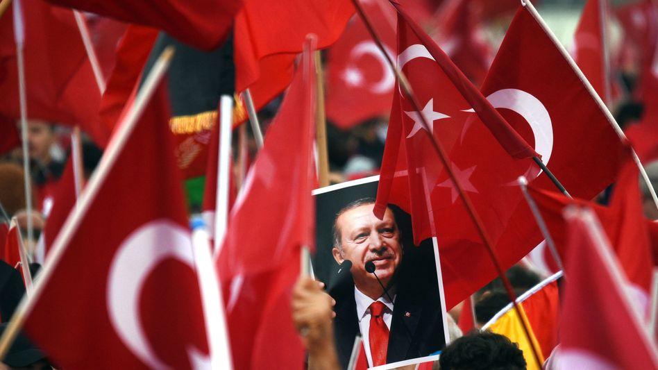 Erdogan-Anhänger in Köln (2016)