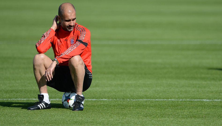 Bayern-Trainer Guardiola: Ein großer Freund des Ballbesitzes