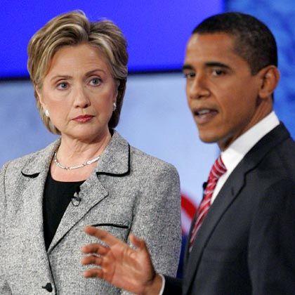 Demokraten-Rivalen Clinton, Obama: Rassismus-Vorwürfe im Wahlkampf