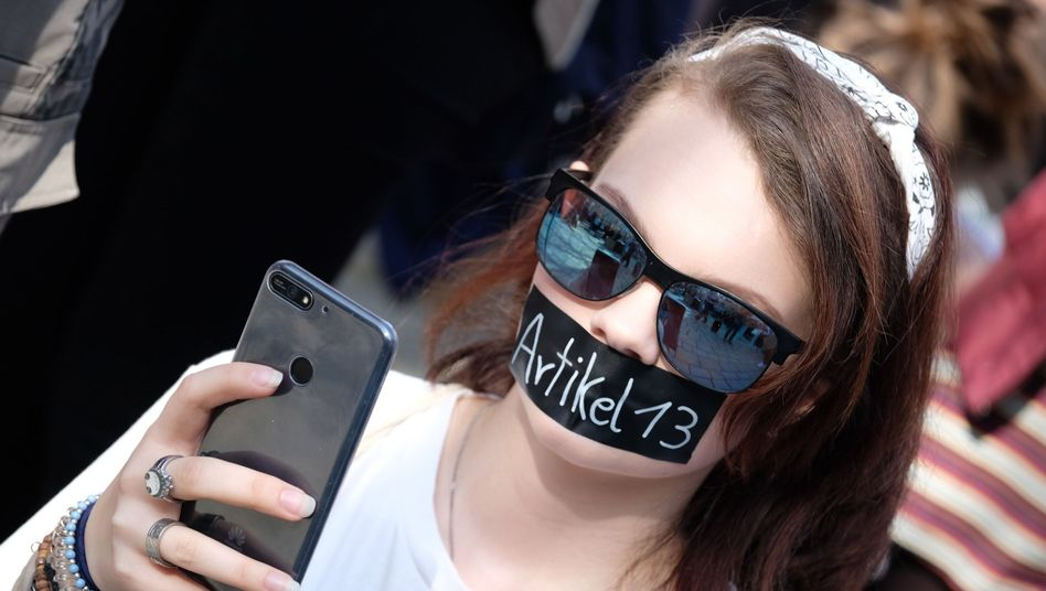 Protest gegen Artikel 13 der Urheberrechtsreform (am 23. März)