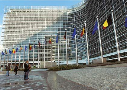 "The Euopean Commission's Headquarters in Brussels: ""I forbid, therefore I am."""