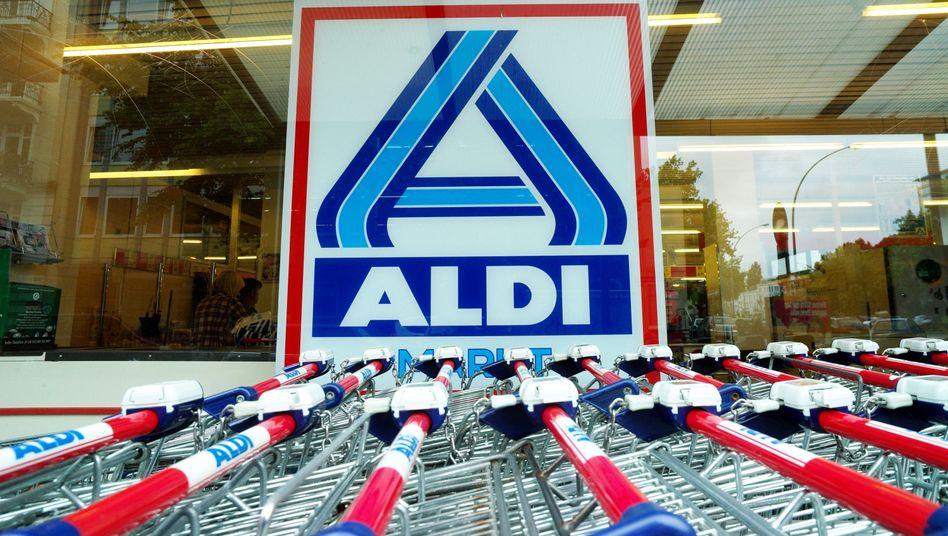 Aldi-Markt in Hamburg: Preissteigerung bei Milch bis zu 20 Prozent