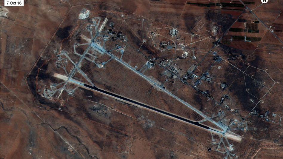 Vergeltungsschlag nach Chemiewaffenangriff: Was überdie US-Attacke in Syrien bekannt ist