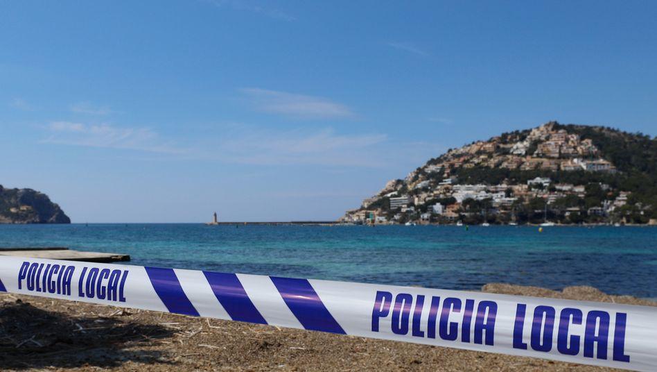 Absperrband der Polizei auf Mallorca (Symbolbild)