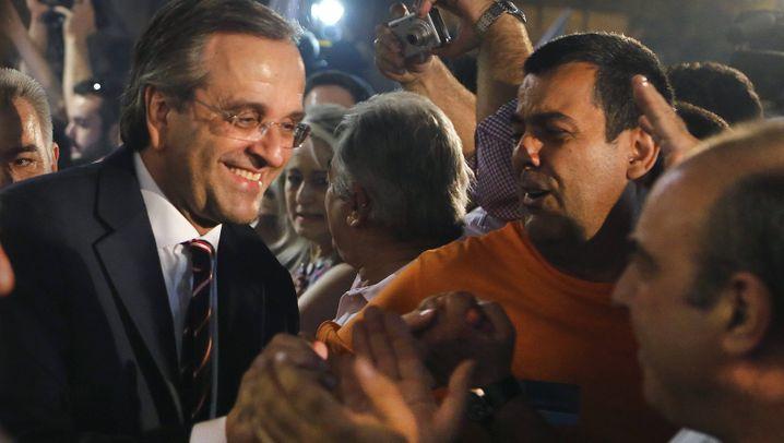 Zitterwahl in Griechenland: Pro-Euro-Partei setzt sich durch