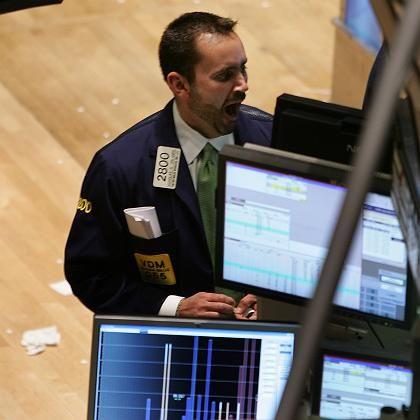Börsenhändler in New York: Schon 60 Prozent der Umsätze erledigen Computer