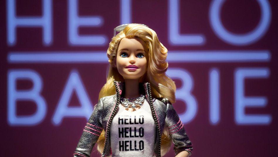 Hello Barbie auf der Spielzeugmesse in New York: Kann vor allem gut zuhören
