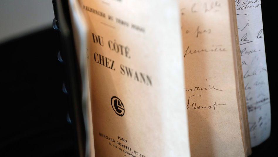 """Originalausgabe von Marcel Prousts """"In Swanns Welt"""""""