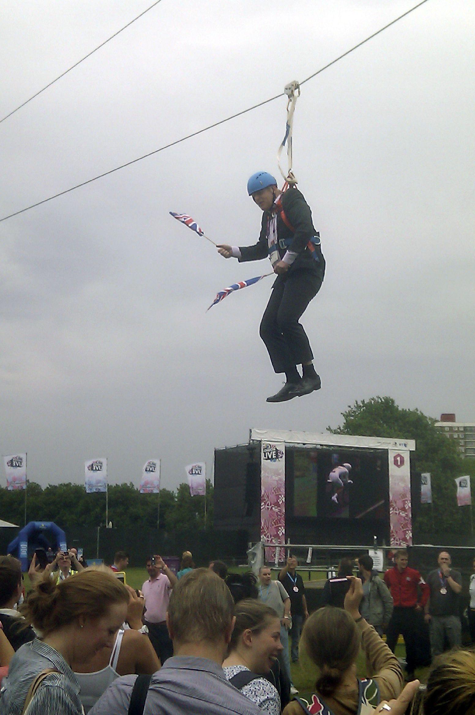 NUR FÜR SPAM Mayor On Wire