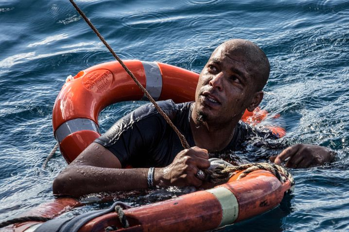 Flüchtling vor Malta