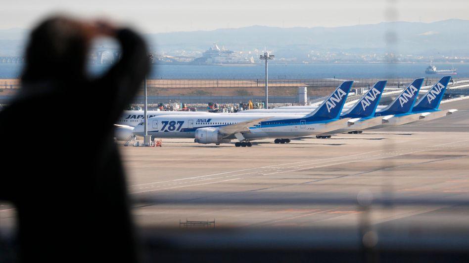 Dreamliner von All Nippon Airlines (in Tokio, Januar 2013): Probleme waren bekannt