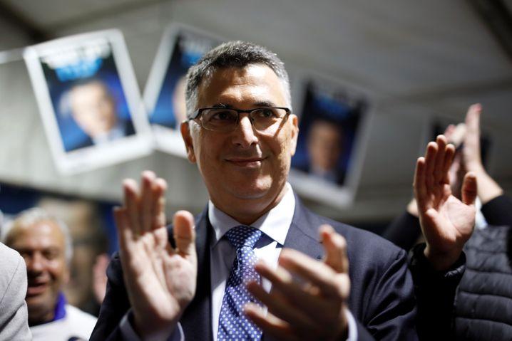 Will Netanyahu als Premier beerben: Gideon Saar
