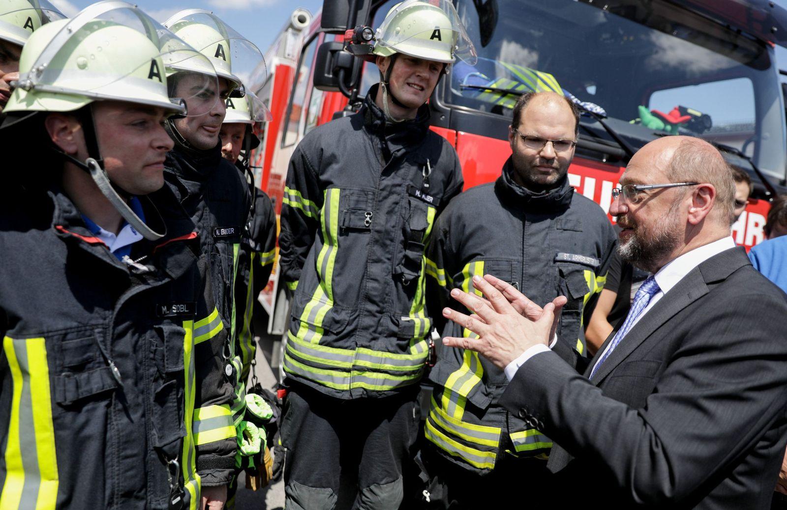 Sommerreise von SPD-Kanzlerkandidat Schulz nach Bayern