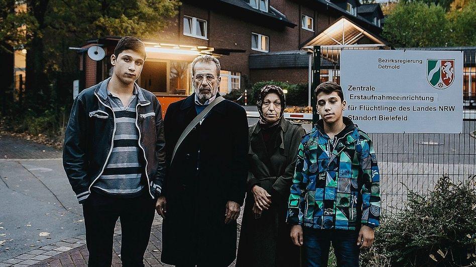 Eheleute Malak, Fadila A., Söhne: »Hab ein schönes Leben in Europa«