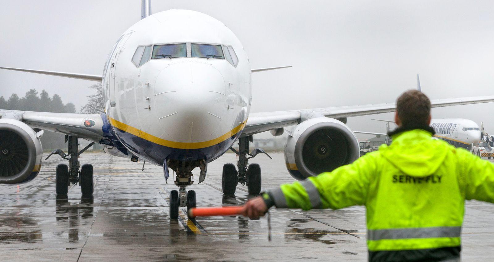Streik von Ryanair Piloten