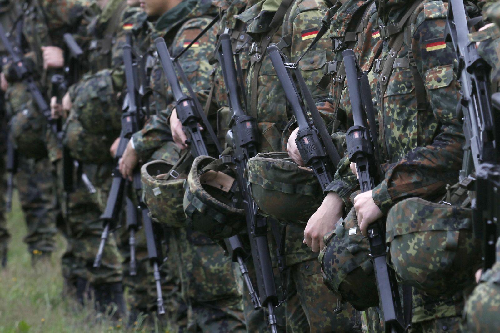 NICHT VERWENDEN Wehrpflicht / Bundeswehr