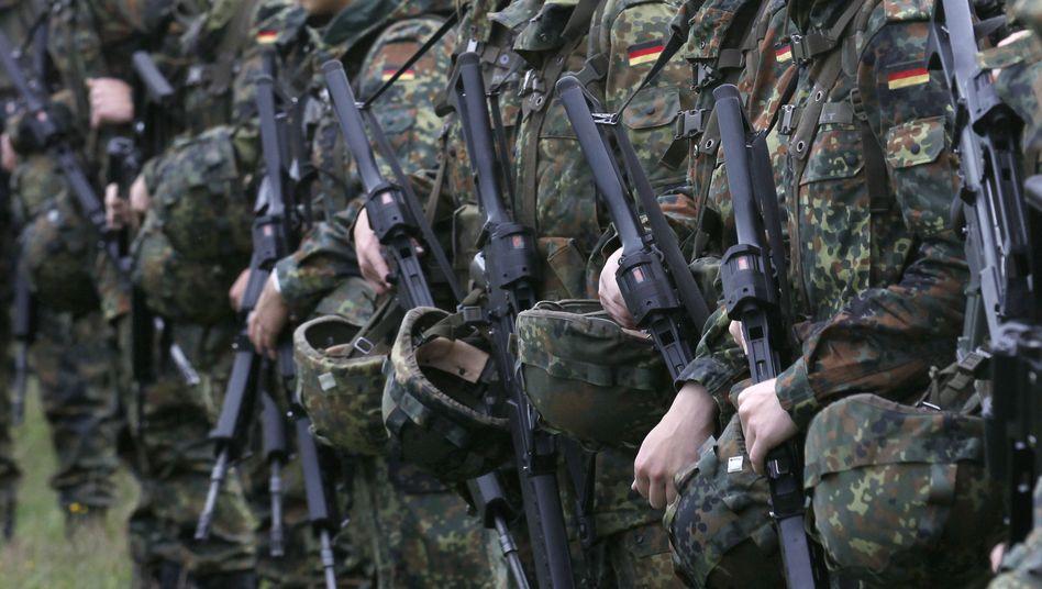 """Freiwillig Wehrdienstleistende: Mehr als 2000 """"besondere Vorkommnisse"""""""