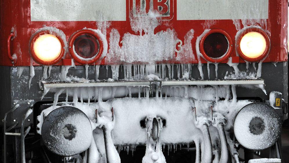 Bahn im Winter: Ärger durch Schnee und Eis