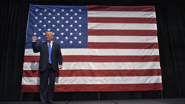 Wahlkampf in den USA: Clinton und Trump im Endspurt