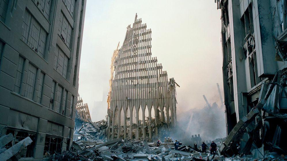 Terror am 11. September 2001: Bilder einer verwundeten Stadt