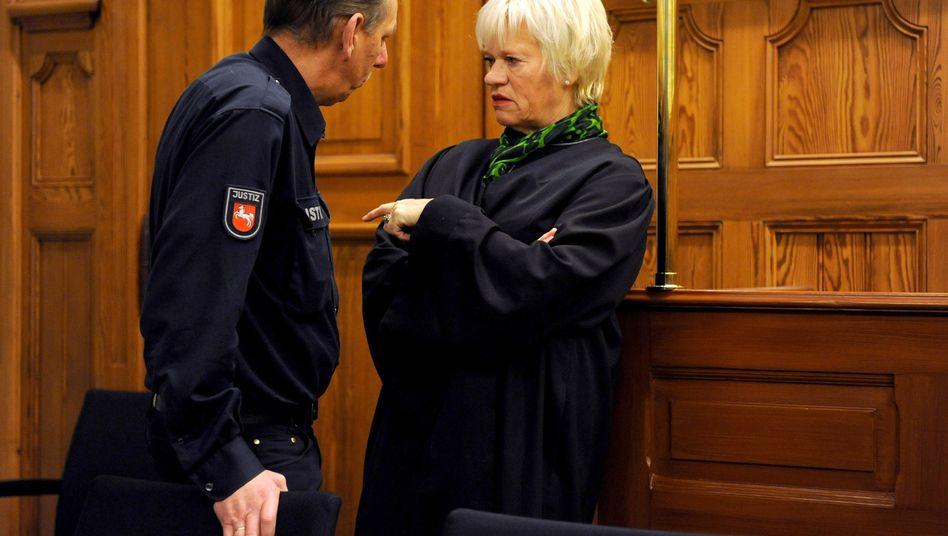 Anwältin Voges im Landgericht Stade: Revision ist geplant