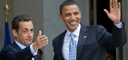 """Obama-Besuch bei Nicolas Sarkozy: """"Weniger Milliarden Dollar ausgeben"""""""