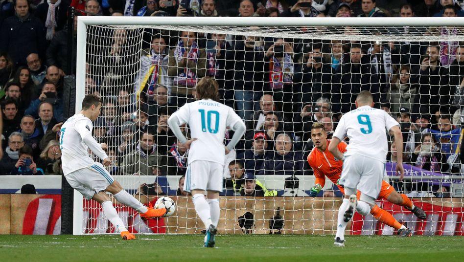 Real Madrid im vergangenen Jahr
