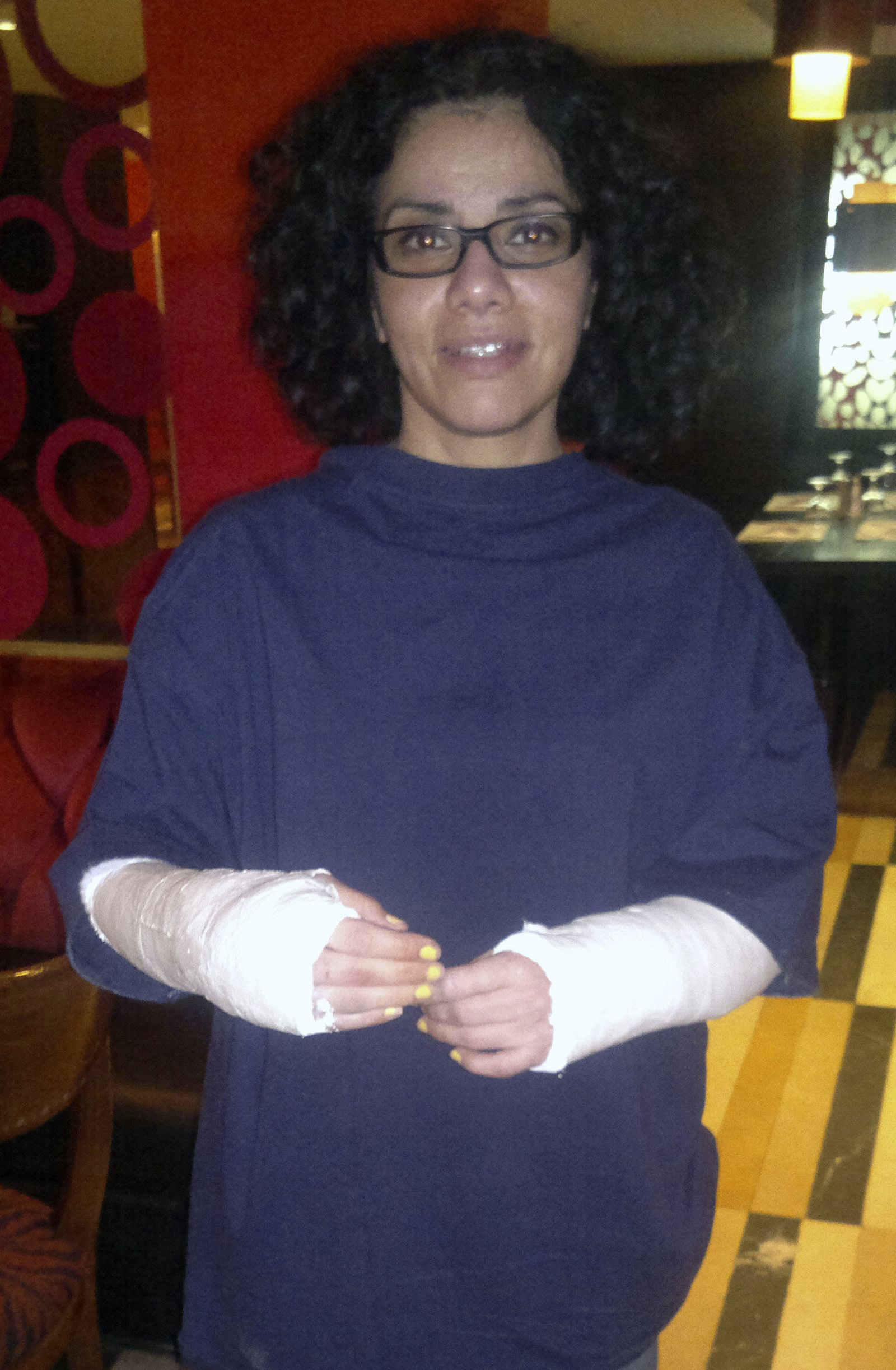 cairo Mona Eltahawy