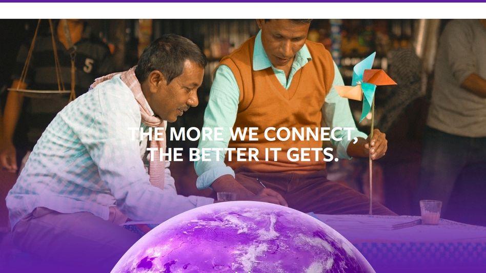 Screenshot von Internet.org: Das Internet besteht für viele Inder aus 38 Webseiten