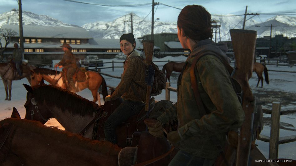 """Szene aus """"The Last of Us Part 2"""": Ein Spiel mit den Gefühlen von Spielerinnen und Spielern"""