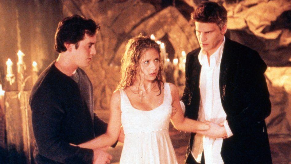 Sarah Michelle Gellar als Buffy: ein feministisch-trojanisches Pony