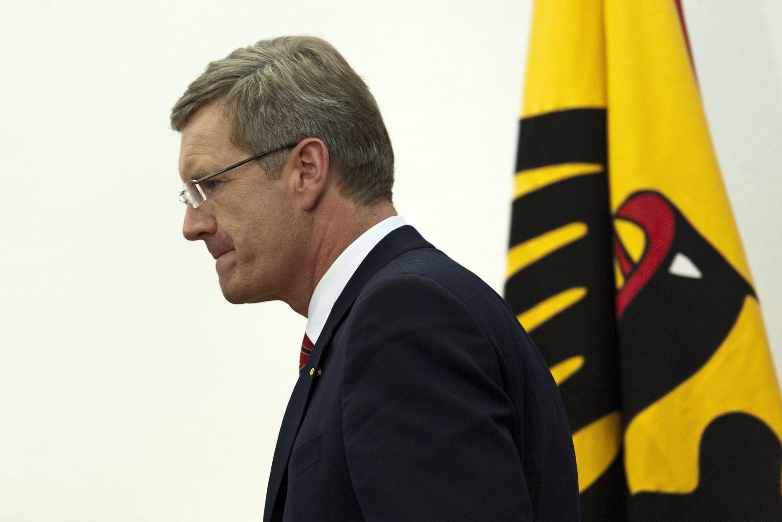 NICHT VERWENDEN Chrisitan Wulff/ Bundespräsident XXL