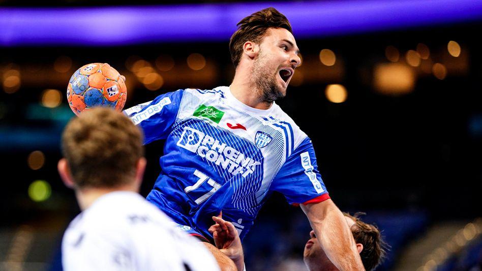 Lemgos Dani Baijens traf zweimal gegen den Kieler Favoriten