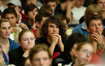 Erstsemester (in Berlin): Sind die Hörsäle bald voller oder leerer?