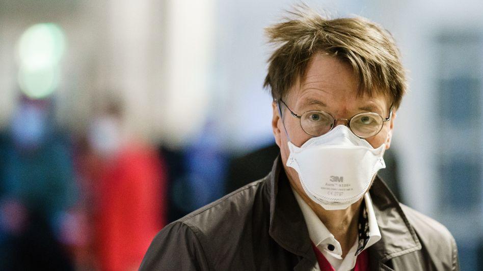 Nicht mehr »unbegrenzt« Tests bezahlen: SPD-Gesundheitsexperte Karl Lauterbach