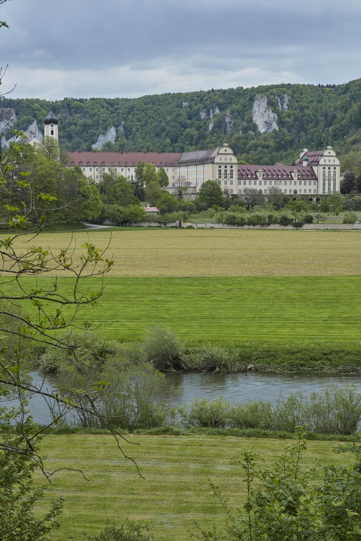 The abbey in Beuron now offers getaways for stressed city-dwellers.