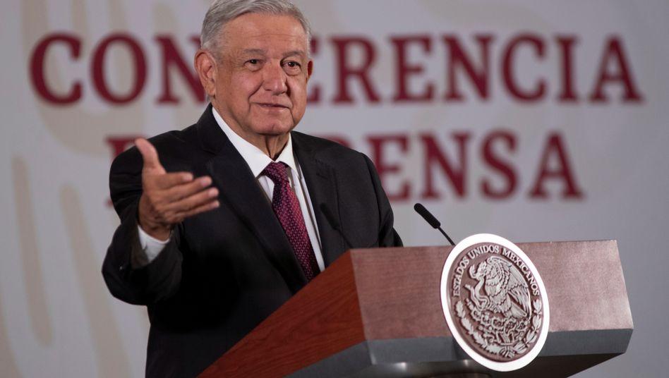 Mexikos Präsident Andrés Manuel López Obrador hat sich eigenen Worten zufolge mit den USA geeinigt