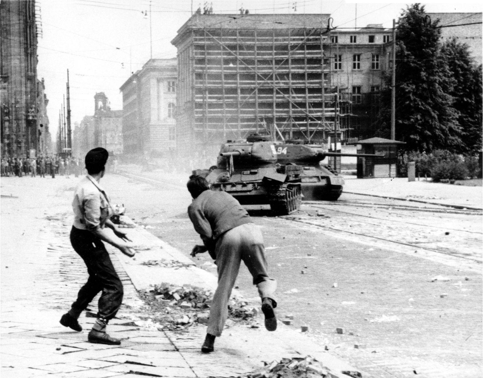 NUR FÜR EINESTAGES - Arbeiteraufstand 1953