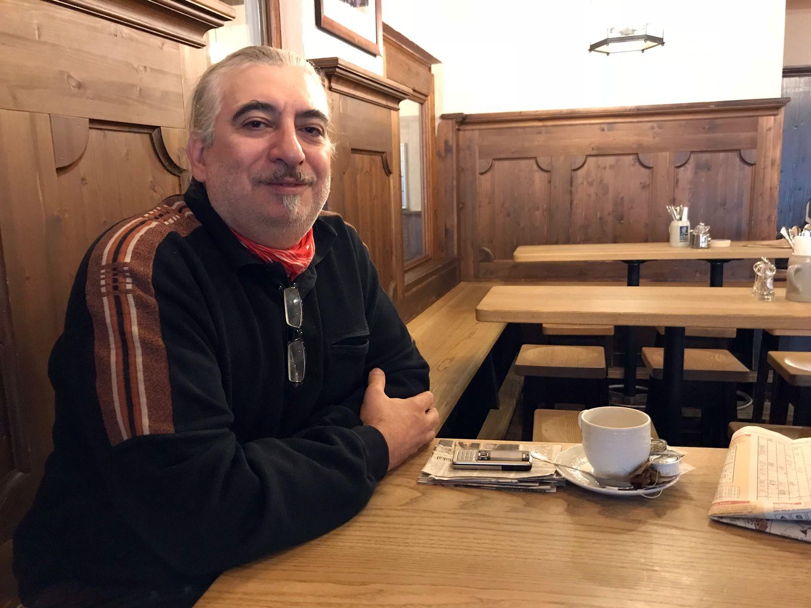 Pegida-Stammtisch in München