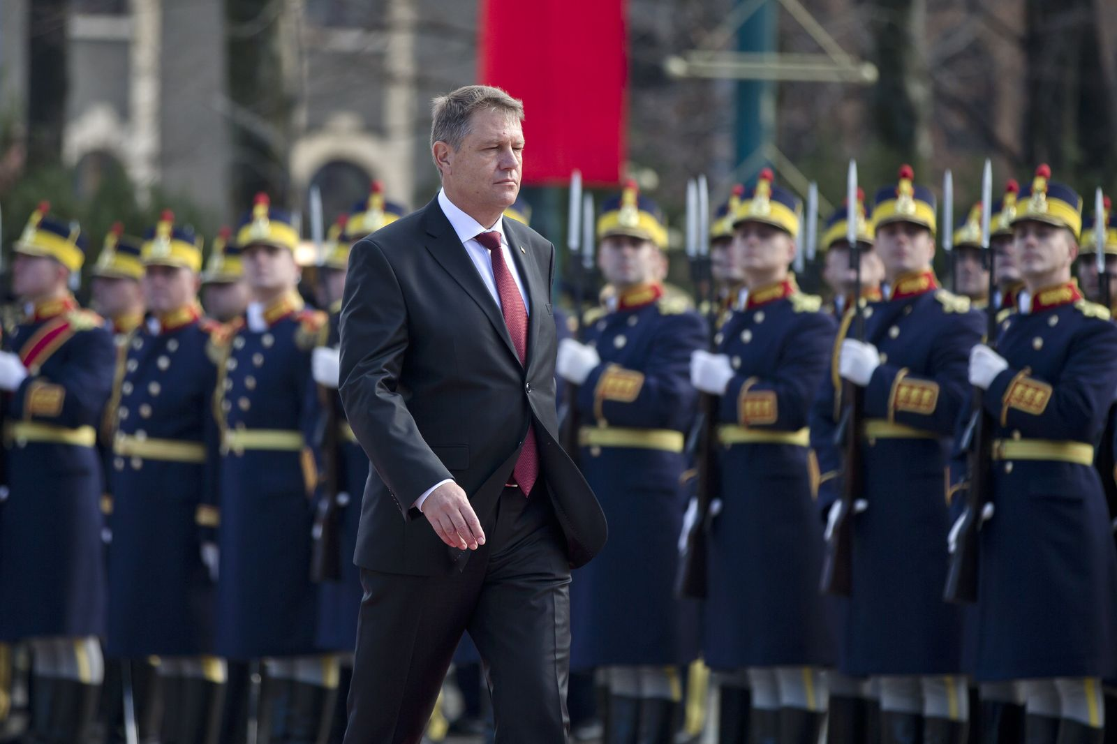 Romania President Iohannis