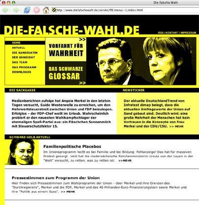 """SPD-Wahlkampfseite: """"Penner"""" und """"Leichtmatrosen"""""""