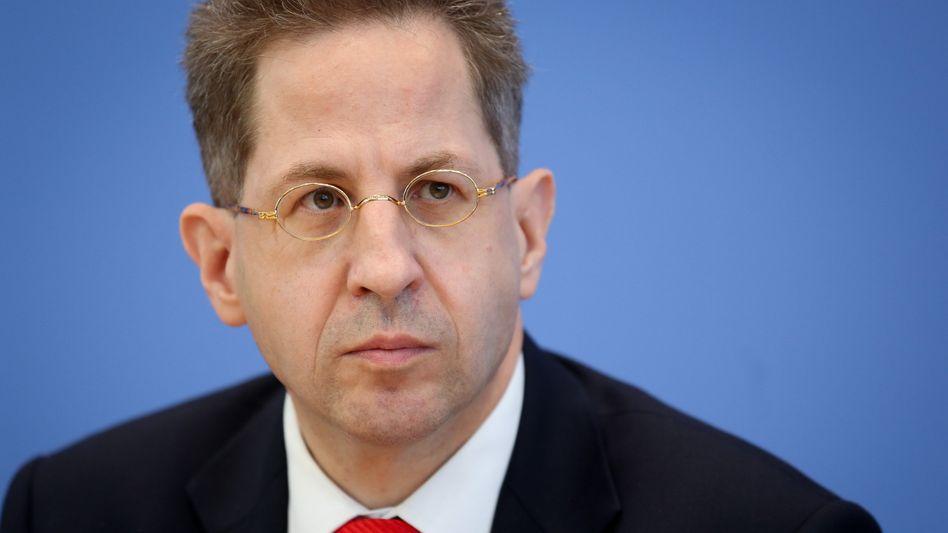 Verfassungsschutzpräsident Hans-Georg Maaßen: Gute Zusammenarbeit mit den USA