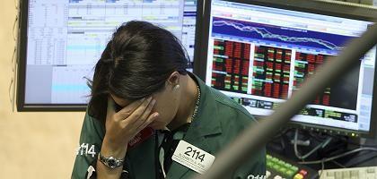 Aktienhändlerin an der Wall Street: Ausverkauf an der Börse