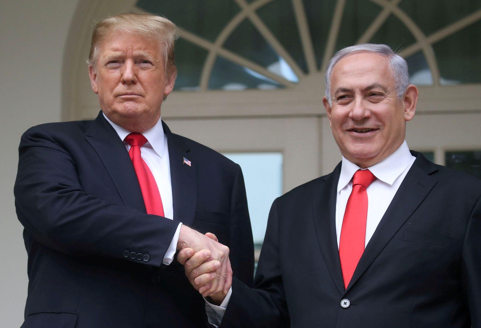 ISRAEL-USA/GOLAN