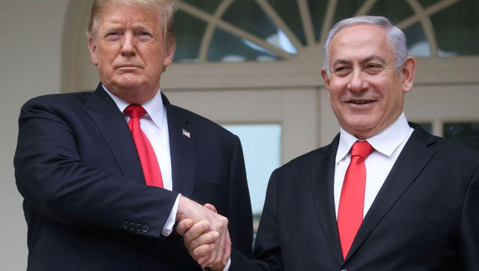 US-Präsident Donald Trump und Israels Premier Benjamin Netanyahu.