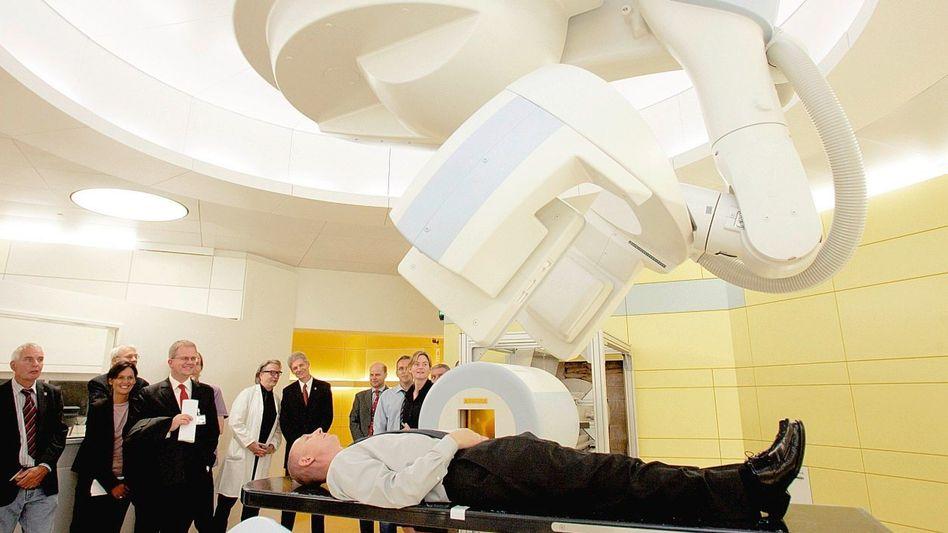 Strahlenkanone im Marburger Partikeltherapiezentrum: Stromverbrauch einer Kleinstadt