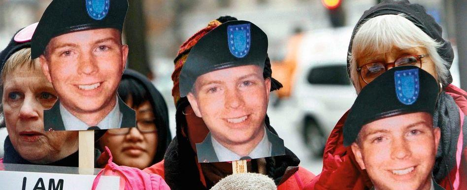 Manning-Unterstützer in Washington: »Abu Ghuraib auf amerikanischem Boden«