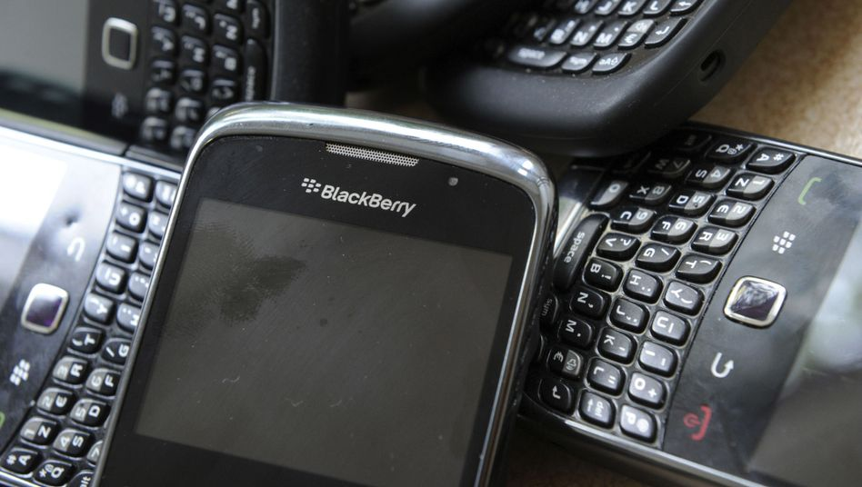 Blackberrys: Probleme an allen Fronten